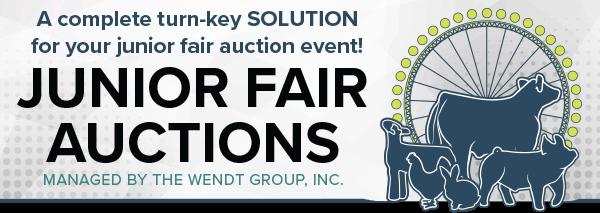 Junior Fair Auctions
