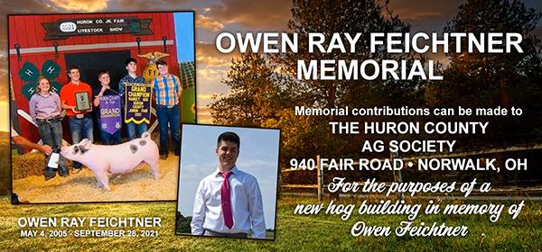 Owen Ray Feichtner Memorial