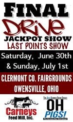 Final Drive Jackpot Show