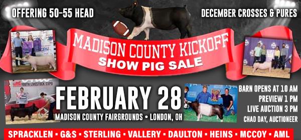 Madison Co. Kickoff Sale
