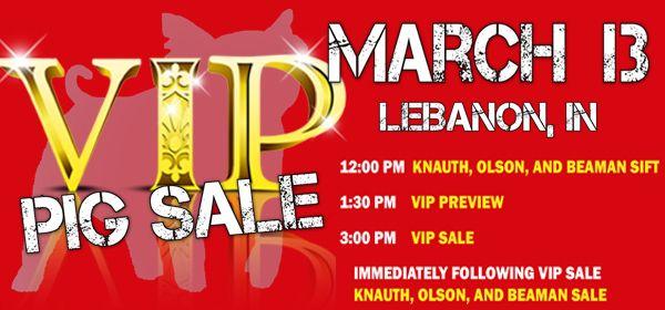 The VIP Sale