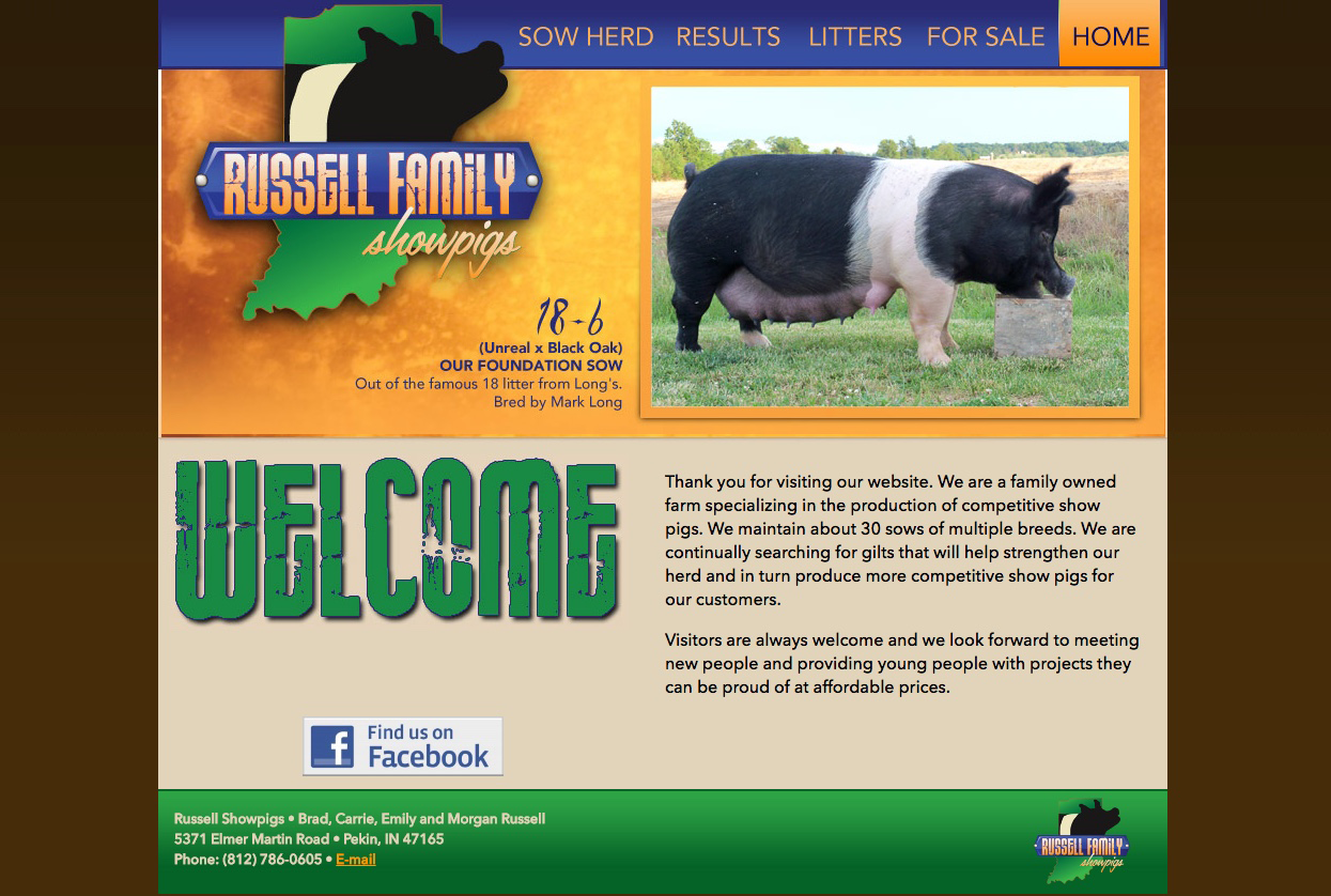 Platinum Website Package Example (Russell)