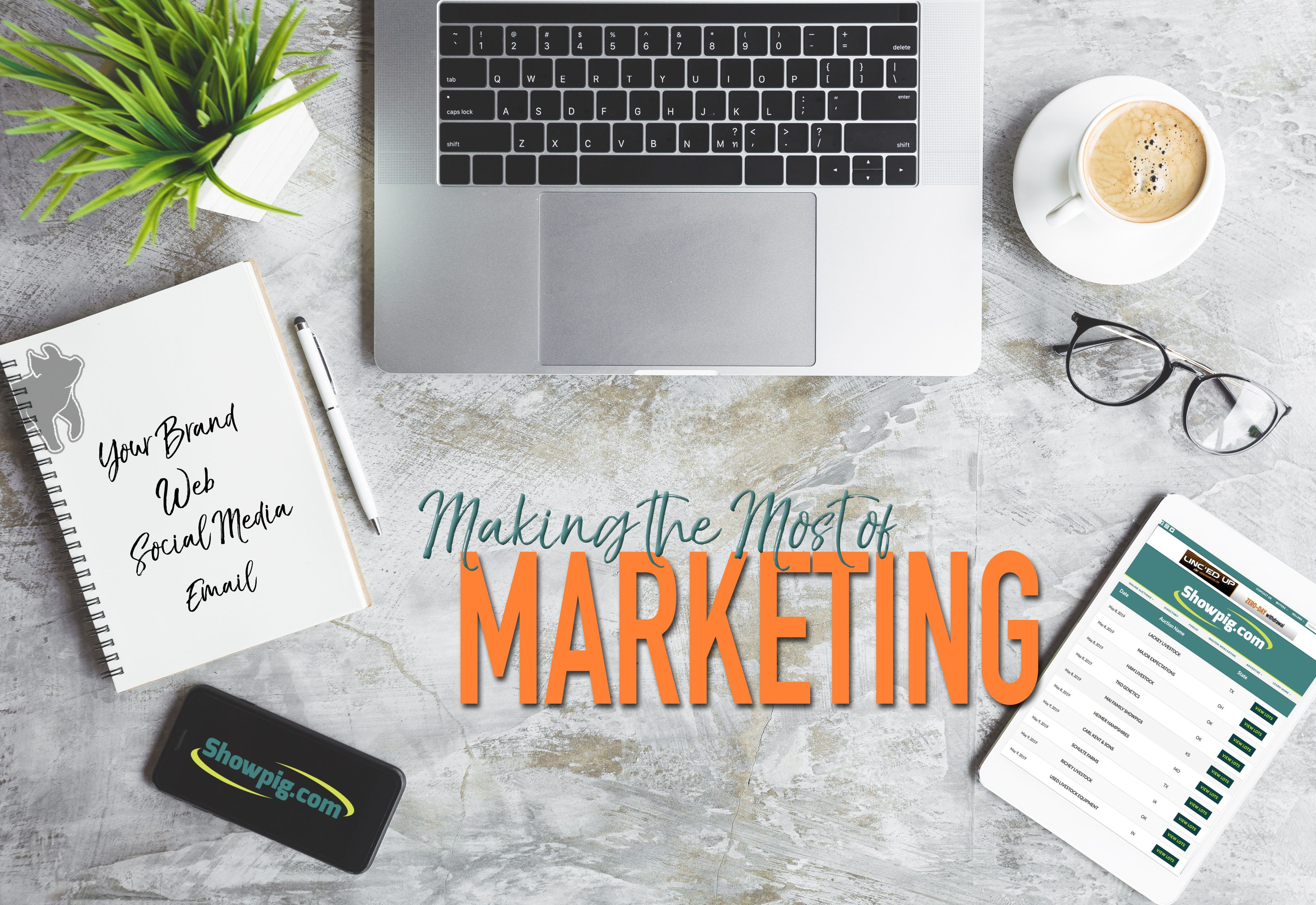 Featured image for the article titled Making the Most of Marketing