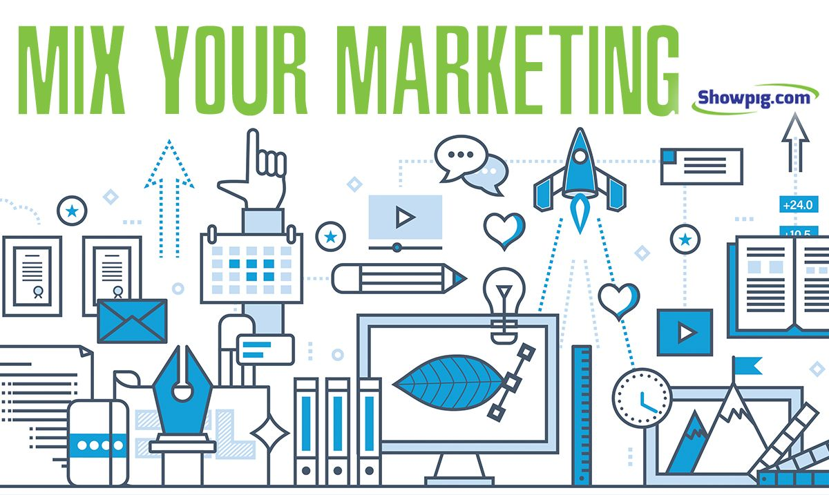 Featured image for the article titled Mixing Your Marketing