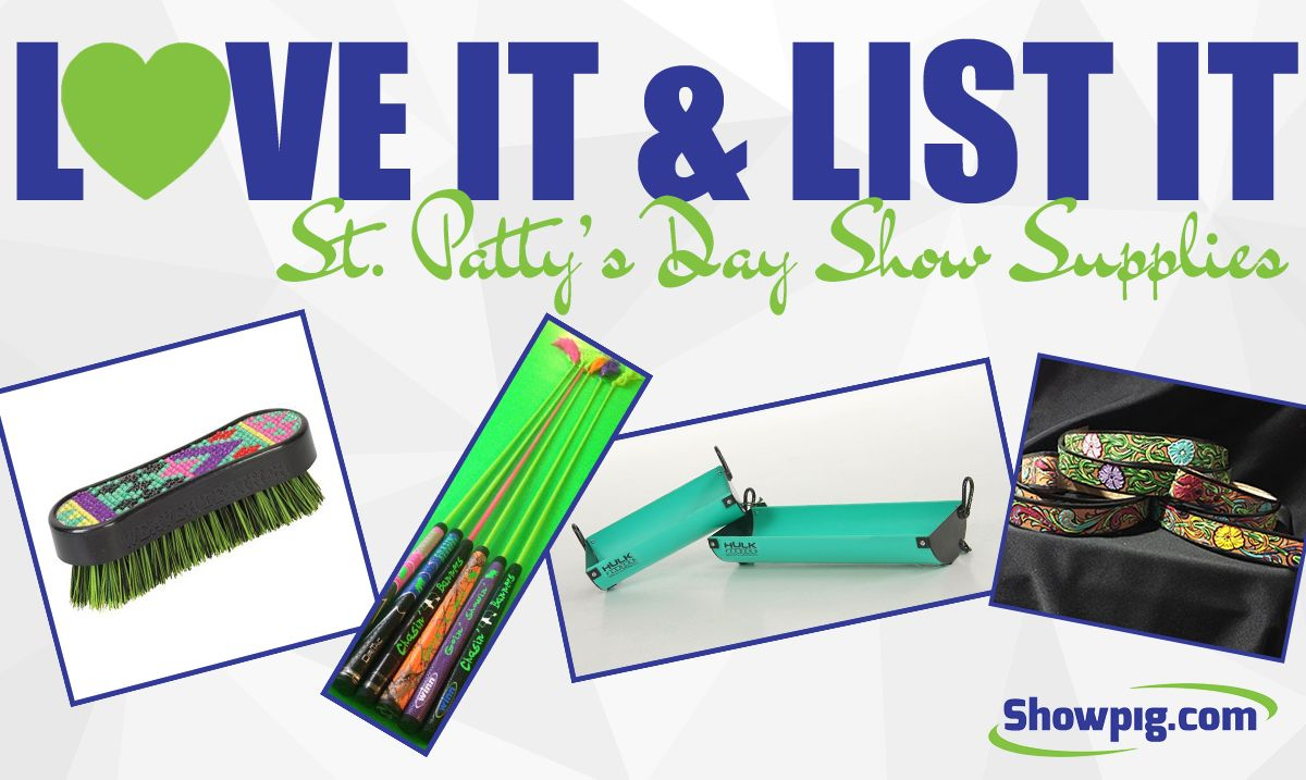 Featured image for the article titled Love It & List It :: St. Patty's Day Show Supplies