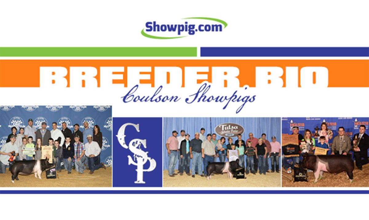 Featured image for the article titled Breeder Bio : Coulson Showpigs
