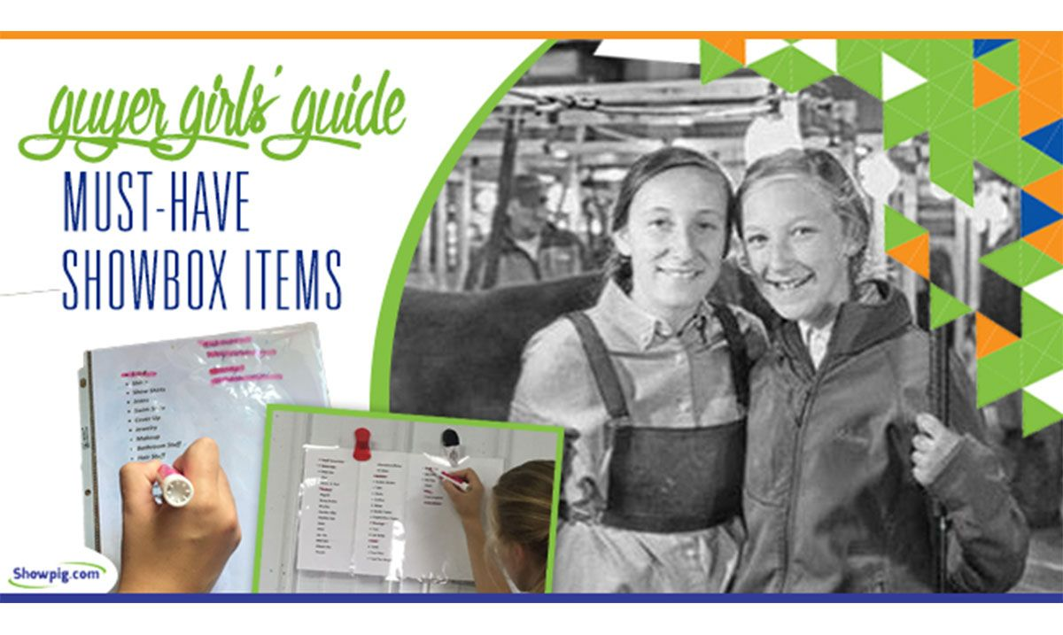 Featured image for the article titled Guyer Girls' Guide to Must-Have Showbox Items