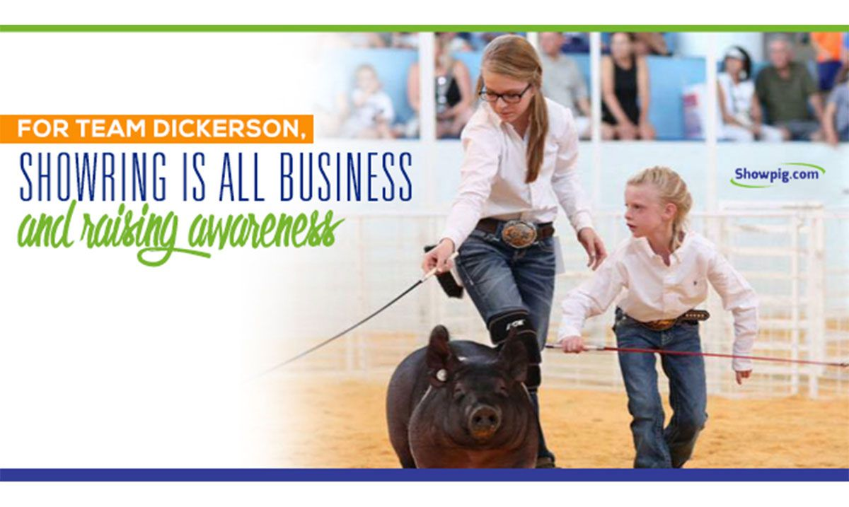 Featured image for the article titled Team Dickerson in the Show Ring Means Business And Awareness