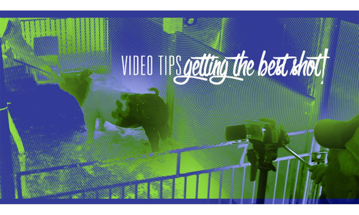 Featured image for the article titled Video Tips: Getting the Best Shot