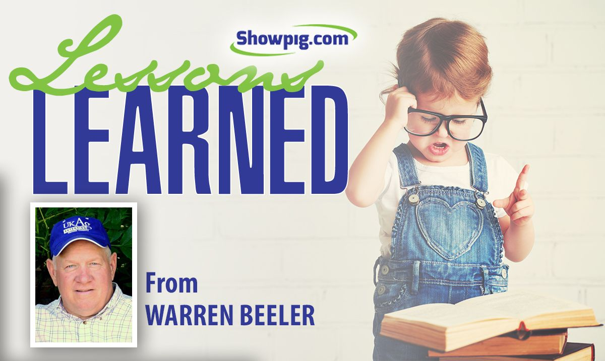 Featured image for the article titled Lessons Learned :: Warren Beeler