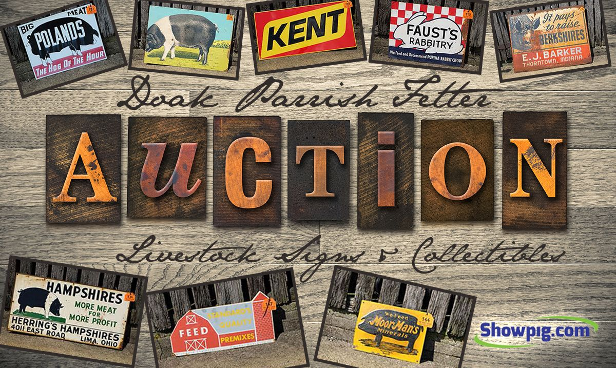 Featured image for the article titled Livestock Sign and Vintage Memorabilia Auctions