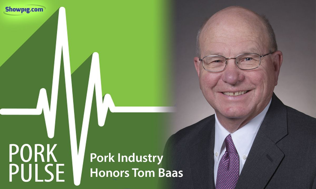 Featured image for the article titled Pork Industry Honors Tom Baas with the Distinguished Service Award