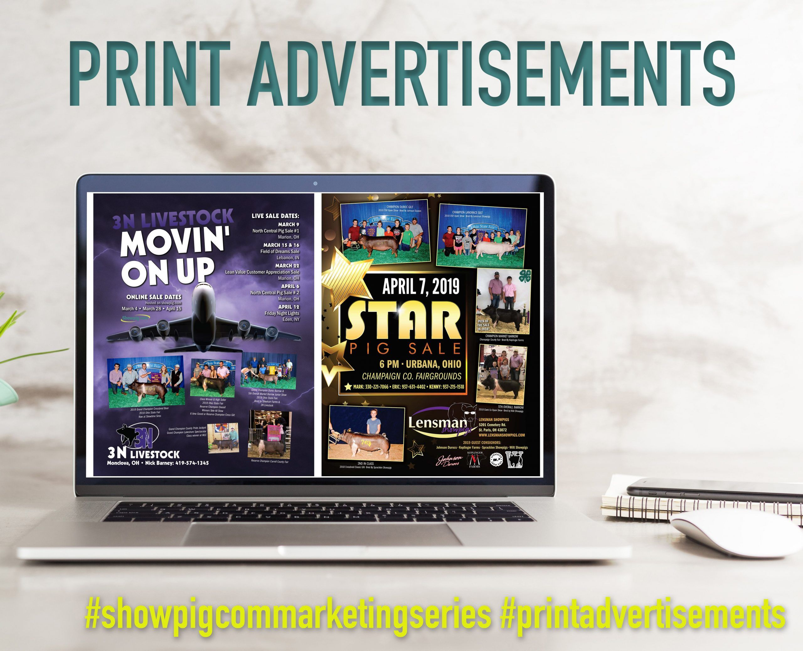 Featured image for the article titled Marketing Series :: Print Advertisements