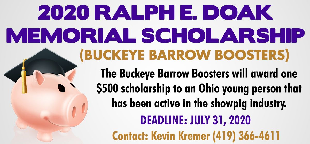 Featured image for the article titled 2020 Ralph E. Doak Memorial Scholarship