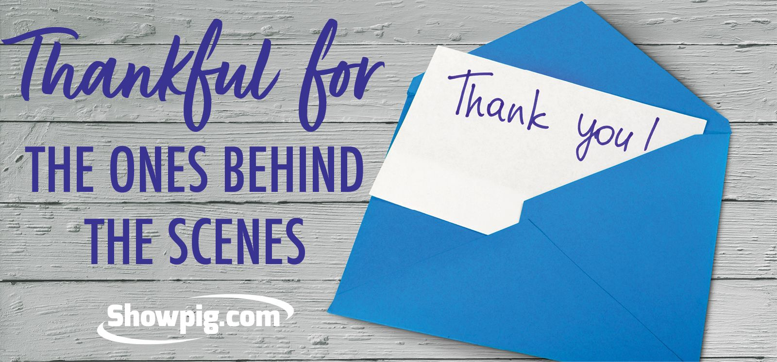 Featured image for the article titled A thank you note to the ones behind the scenes