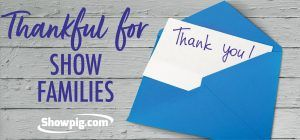 Featured image for the article titled A thank you note to our show family