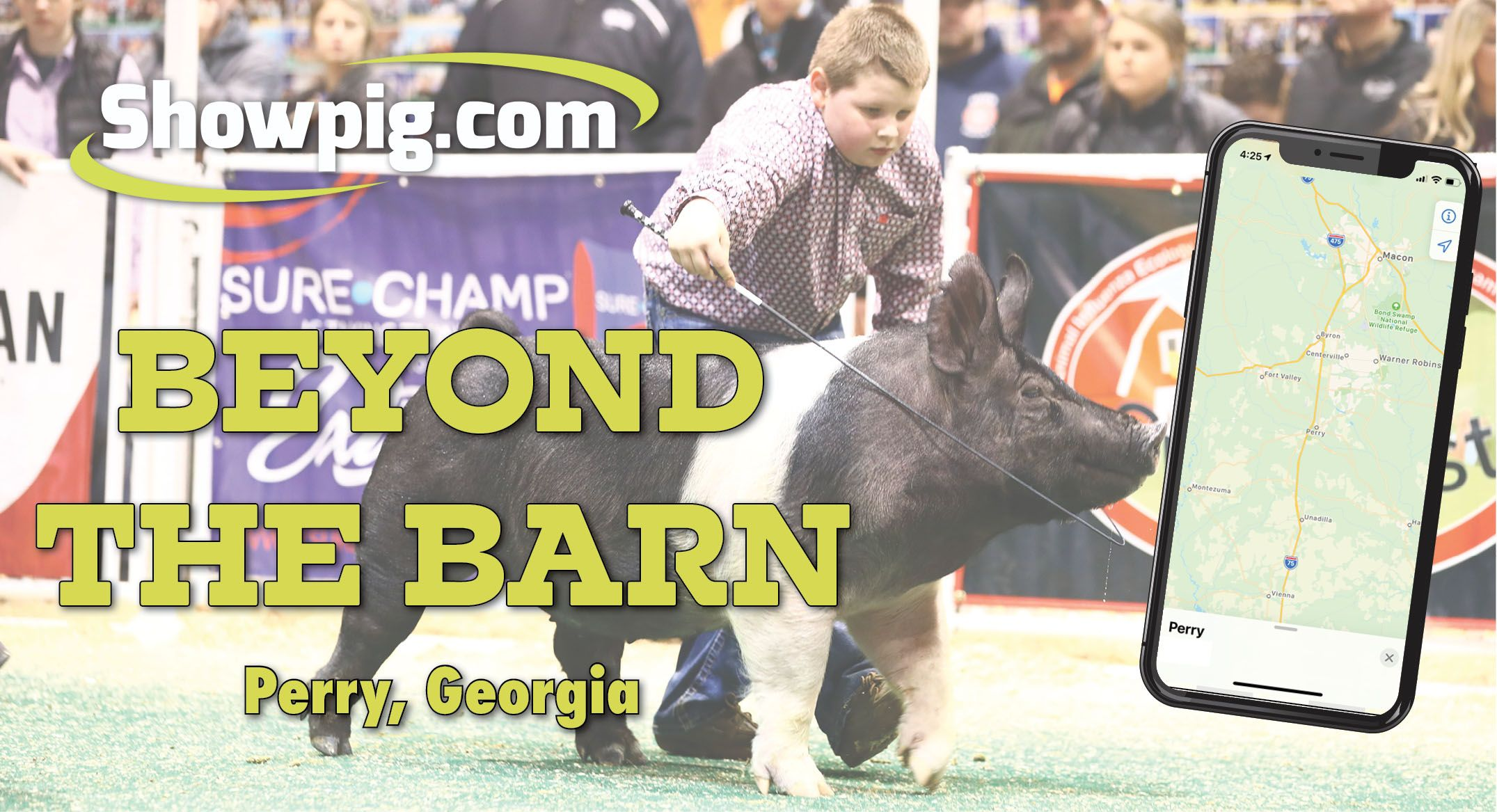 Featured image for the article titled Beyond the Barn: Perry, Georgia
