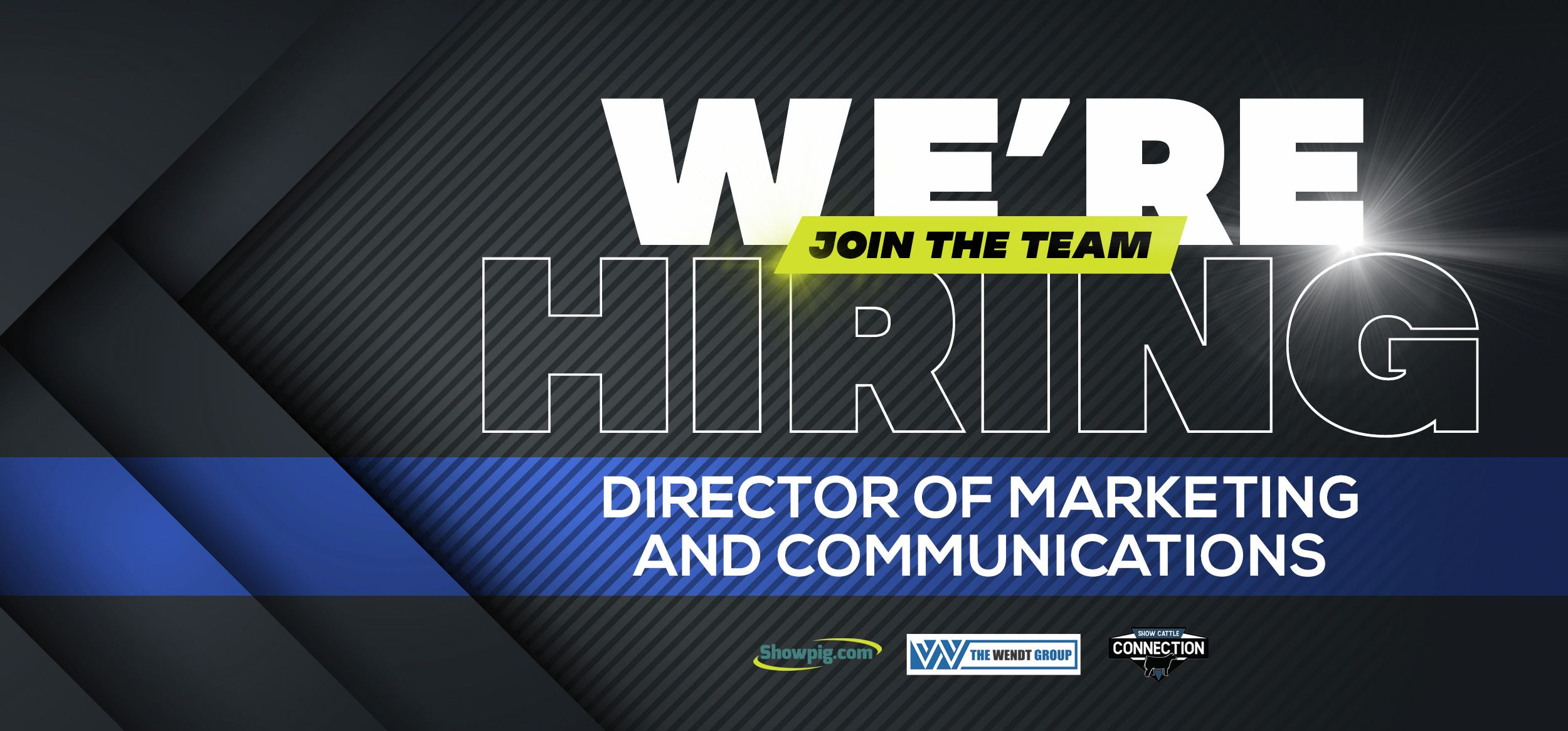 Featured image for the article titled We're Hiring :: Director of Marketing and Communications